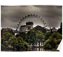 London Eye. Poster