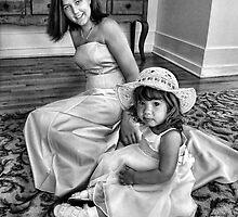Bridesmaid and Flowergirl by photoshotgun