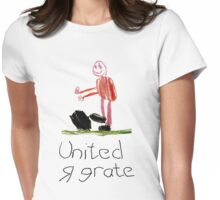 United are great Womens Fitted T-Shirt