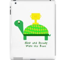 Slow and Steady Wins the Race-Turtle iPad Case/Skin
