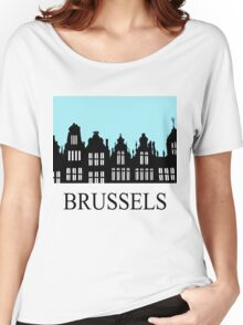 Brussels Grand Place / Grote Markt Women's Relaxed Fit T-Shirt