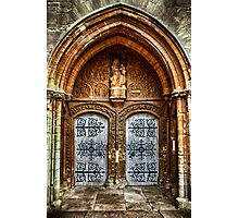 St Marys Church West Porch Door Photographic Print