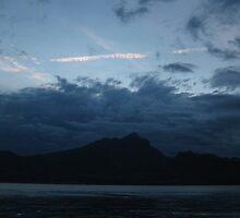 Blue Sunset by Matthew Pugh
