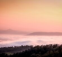 A Blanket of clouds over Volksrust. (South Africa) by Qnita