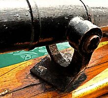 Antique Tall Ship Cannon by sunrisern