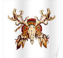 Vector tribal decorative totem  Poster