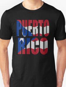 Puerto Rican flag Unisex T-Shirt