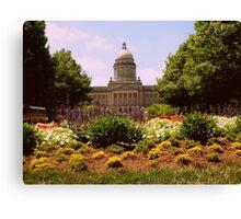 Kentucky Capital Canvas Print