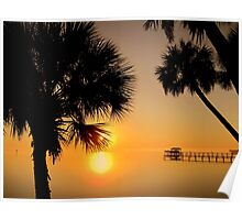 Florida Sunrise Poster