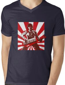 Keytar Rambo  Mens V-Neck T-Shirt
