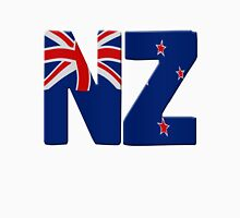 New Zealand flag Womens Fitted T-Shirt