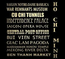 Ho Chi Minh Famous Landmarks by Patricia Lintner