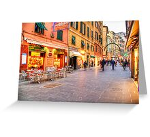 Shopping two Greeting Card