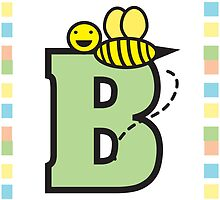 B is for Bee by ValeriesGallery