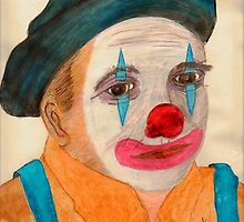 Clown #3 by Thomas J Norbeck