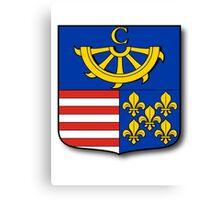 Slovakian coat of arms Canvas Print