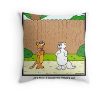 Pick up line Throw Pillow