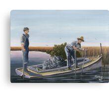 """Old Lowcountry""  Folly Beach, SC Canvas Print"