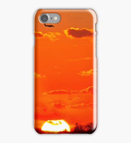 Fiery Approach iPhone Case/Skin