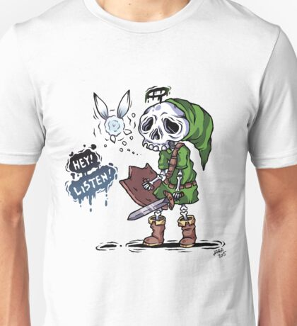 Colored Skull Link Unisex T-Shirt