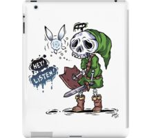 Colored Skull Link iPad Case/Skin