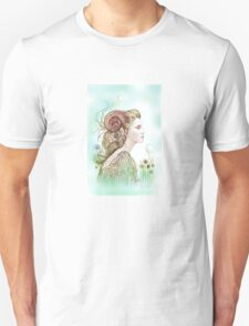 """THE ARIES"" - Protective Angel for Zodiac Sign T-Shirt"