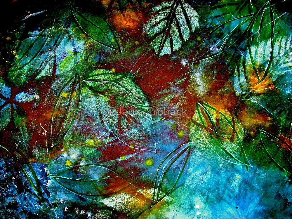 Abstract...Precious by ©Janis Zroback