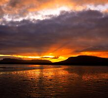 Sunrise at Mullaghmore Beach. Sligo. Ireland by EUNAN SWEENEY