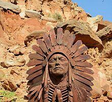 Quanah Parker by © Loree McComb