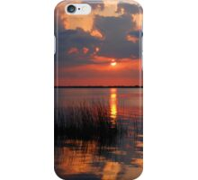 Another Sunset on the Lake iPhone Case/Skin