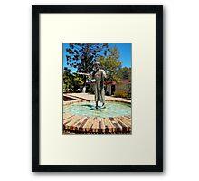 Come Unto Me - Jesus Framed Print