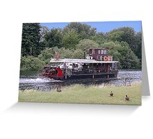 The Thames at Windsor Greeting Card