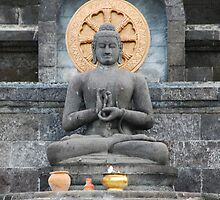 Buddha statue  by Michael Brewer