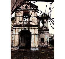 Decrepit collonialism - Georgetown, Penang Photographic Print