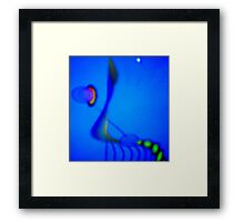 Night Insect Framed Print