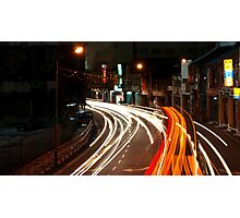 Georgetown Traffic - Penang Photographic Print