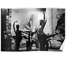 Ballet warm up Poster