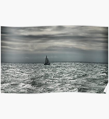 lone sailor Poster