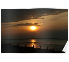 Swale Sunset Poster