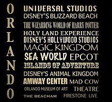 Orlando Famous Landmarks by Patricia Lintner