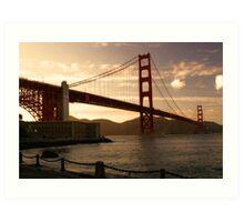 Golden Gate - San Francisco Art Print