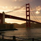 Golden Gate - San Francisco by Julien Delebecque