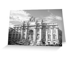 Trevi Fountain Greeting Card