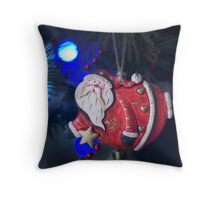Santa..  Throw Pillow