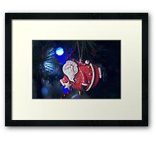 Santa..  Framed Print