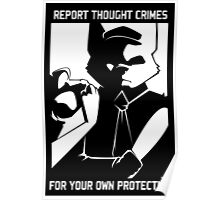 Report Thought Crimes Poster