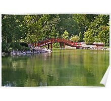 Pond Bridge Poster