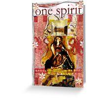 One Spirit(Tribute To Salvador Dali) Greeting Card