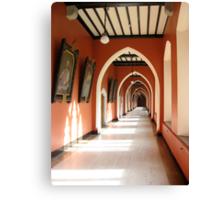 Holy Corridor Canvas Print