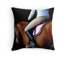 Inspired to Ride Throw Pillow